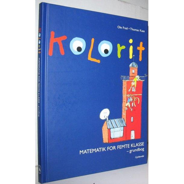 Kolorit - Matematik for femte klasse - grundbog