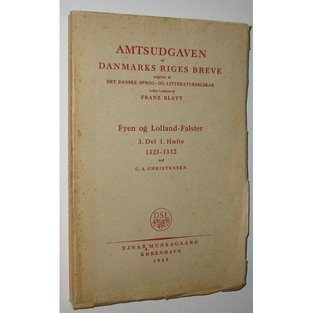Amtsudgave af Danmarks Riges breve