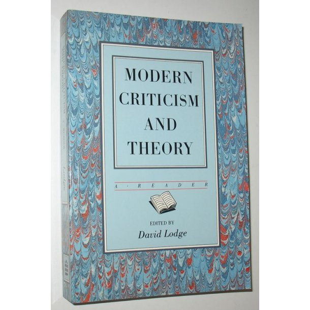Modern Criticism and Theory