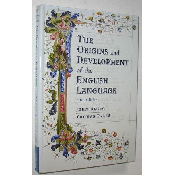The Origins & Development of the English Language