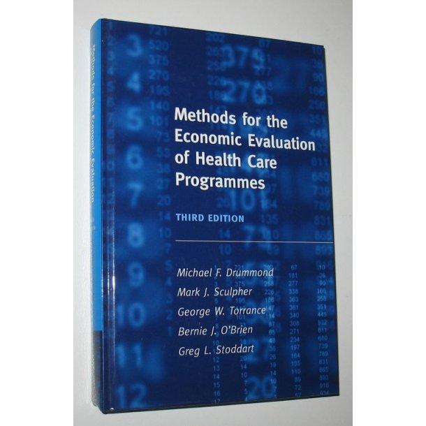 Methods for the Economic Evaluation