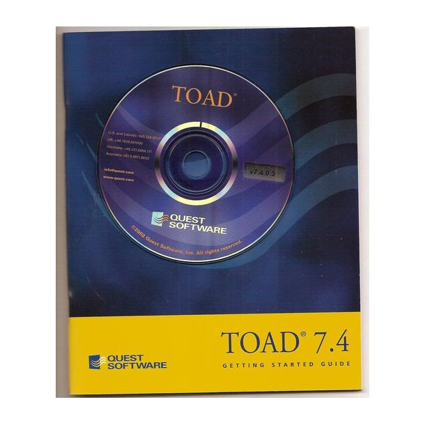 TOAD 7.4 -