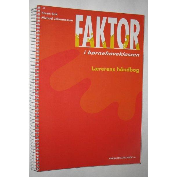 Faktor i børnehaveklassen - lærerens håndbog