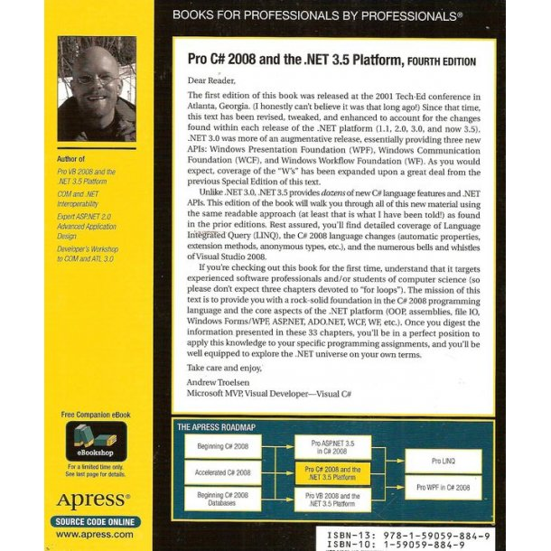 Pro C 2008 And The .Net 3.5 Platform
