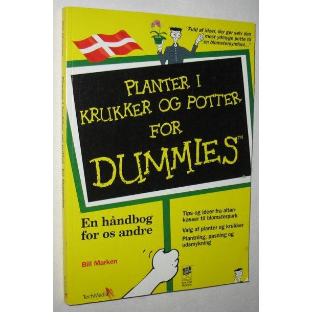 Planter i krukker og potter for dummies