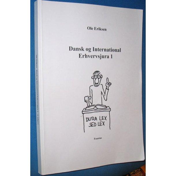 Dansk og international erhvervsjura 1