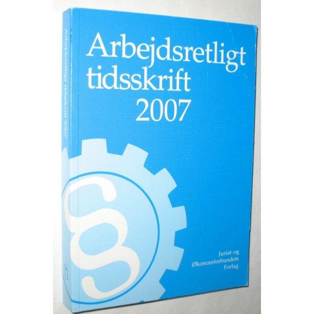 Arbejdsretligt tidsskrift 2007