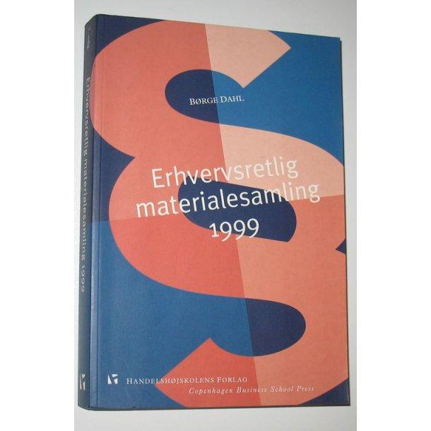 Erhvervsretlig materialesamling 1999