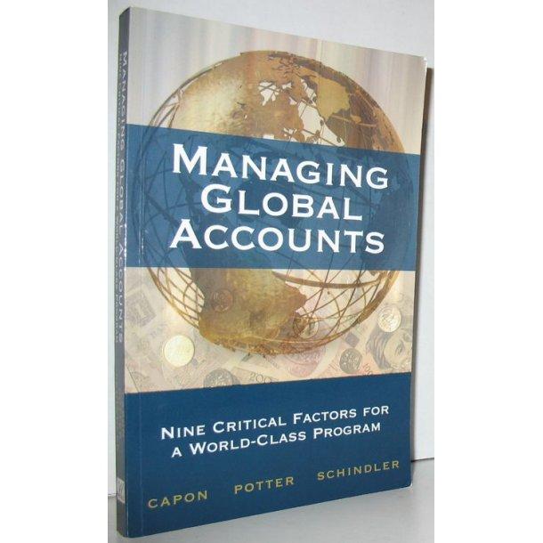 Managing Global Accounts