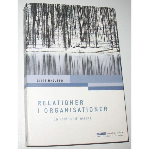 Relationer i organisationer