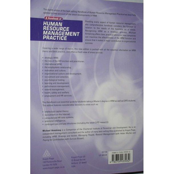 Human Resource Management Practice