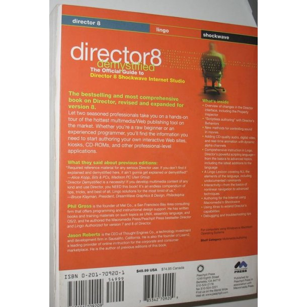 Director 8 Demystified + CD