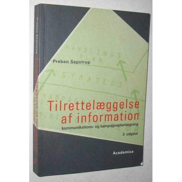 Tilrettelæggelse af information