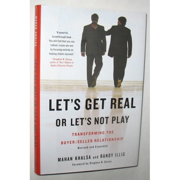 Let´s get real or Let´s not Play