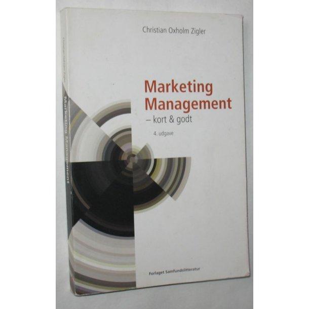 Marketing Management - kort & godt