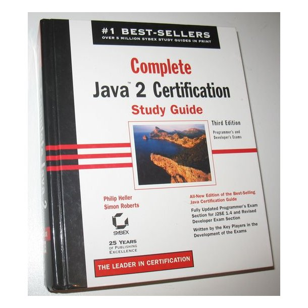 Complete Java 2 certivication Study Guide